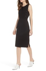 Halogen Knit Sheath Dress Black