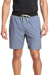 Vuori Men's Kore Performance Shorts Azure Micro Dot