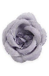 Hook Albert Men's Chambray Lapel Flower