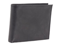 Kenneth Cole Reaction Pass The Buck Passcase Wallet Black Leather Bill Fold Wallet