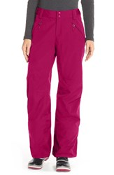 The North Face Women's 'Freedom' Waterproof Heatseeker Insulated Snow Pants Dramatic Plum