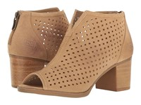Chinese Laundry Too Cute Split Sand Suede Women's Pull On Boots Tan