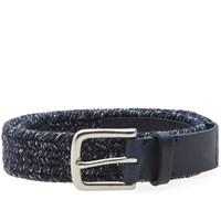 Folk Melange Belt Blue