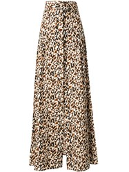 Camilla And Marc Floral Print Skirt Multicolour