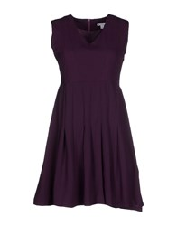 Kling Dresses Short Dresses Women Purple