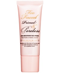 Too Faced Primed And Poreless Skin Smoothing Face Primer No Color