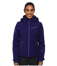 Spyder Radiant Jacket Evening Women's Coat Blue