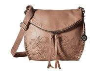 The Sak Silverlake Crossbody Mocha Floral Cross Body Handbags Brown