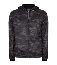 Sandro Soldier Camouflage Jacket Male Grey