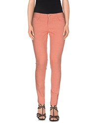 Cimarron Denim Denim Trousers Women Salmon Pink