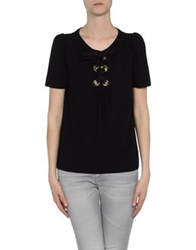 Moschino Cheap And Chic Moschino Cheapandchic Short Sleeve Sweaters Black