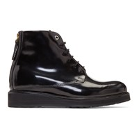 Want Les Essentiels Black Patent Menara Boots
