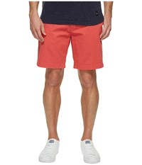 Nautica Anchor Twill Flat Front Shorts Sailor Red Men's Shorts