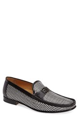 Mezlan Men's Hallman Woven Loafer