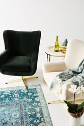 Anthropologie Adavale Swivel Chair Ivory