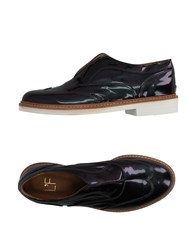 L'f Shoes Loafers Deep Purple