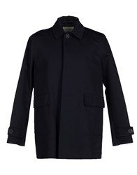 Mauro Grifoni Coats And Jackets Full Length Jackets Men Dark Blue