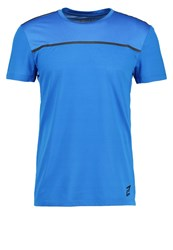 Your Turn Active Sports Shirt Blue Lemonade Neon Blue