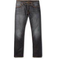 Nudie Jeans Dude Dan Slim Fit Organic Denim Dark Denim