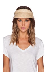 Seafolly Eagle Bay Visor Ivory