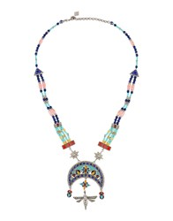 Roberto Cavalli Necklaces Blue