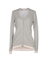 Sun 68 Knitwear Cardigans Women Light Grey