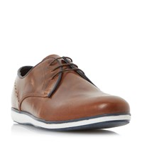 Howick Barry Perforated Casual Oxford Shoes Tan
