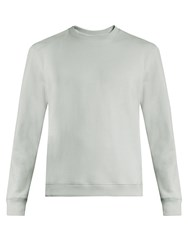 Fanmail Crew Neck Cotton Sweatshirt Light Blue