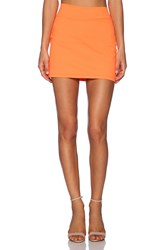 Susana Monaco Slim Skirt Orange
