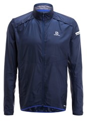 Salomon Agile Sports Jacket Dress Blue