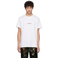 Neil Barrett White Zeus Rider T Shirt