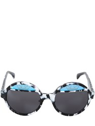 Adidas Originals By Italia Independent Limited Edition Round Acetate Sunglasses