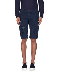Imperial Star Imperial Denim Denim Bermudas Men Dark Blue
