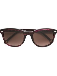 Carolina Herrera 'She' Sunglasses Pink And Purple