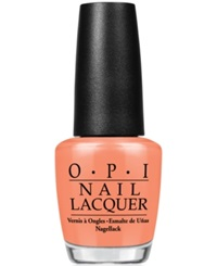 Opi Nail Lacquer Is Mai Tai Crooked