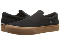 Dc Trase Slip On Tx Black Gum Skate Shoes