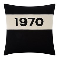 Bella Freud 1970 Cushion Black