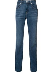 7 For All Mankind 'The Straight Bristol' Jeans Blue