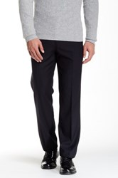Tailorbyrd Flat Front Pant 30 34' Inseam Black