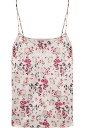 Stella Mccartney Ellie Leaping Printed Stretch Silk Satin Camisole