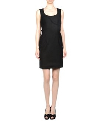 Marios Schwab Short Dresses Black