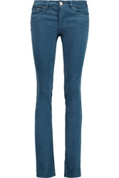 Tory Burch Ivy Corduroy Mid Rise Slim Fit Jeans
