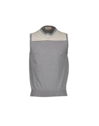 S.O.H.O New York Soho Sweater Vests Light Grey