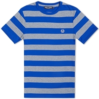 Fred Perry Striped Sports Tee Regal