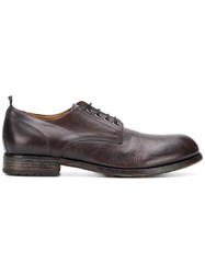 Moma Classic Derby Shoes Brown