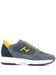 Hogan Panelled Sneakers 60