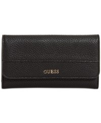 Guess Katiana Slim Clutch Boxed Wallet A Macy's Exclusive Style Black