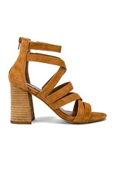 Steve Madden July Suede Heel Tan