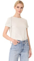 Helmut Lang Strappy T Shirt Waterfall