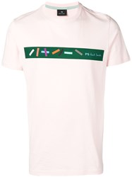 Paul Smith Ps Printed T Shirt Pink